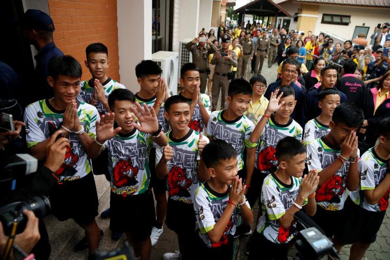 Image: Thai boys