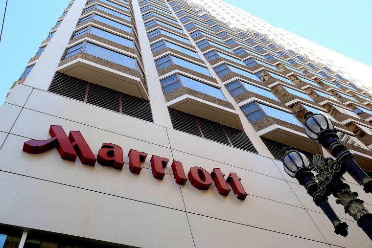 Image: A Marriott hotel on Nov. 16, 2015 in San Francisco.