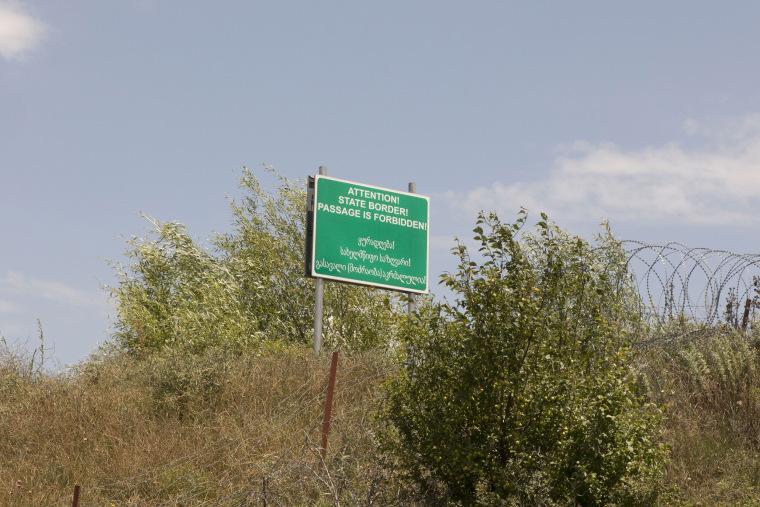 Image: Georgian border