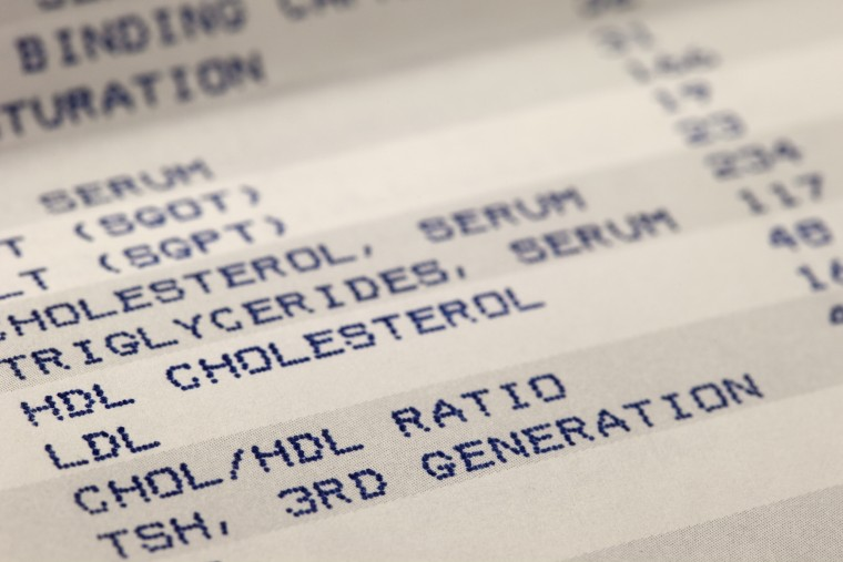 Image: Cholesterol screening