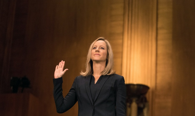 Image: Kathy Kraninger testifies before a Senate Banking Committee hearing on nomination to be director of the Consumer Financial Protection Bureau on Capitol Hill in Washington