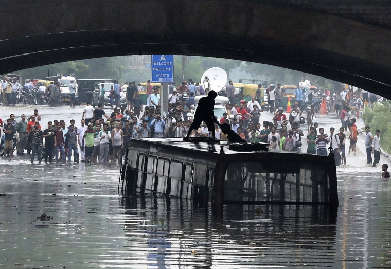 Image: Monsoon season in New Delhi