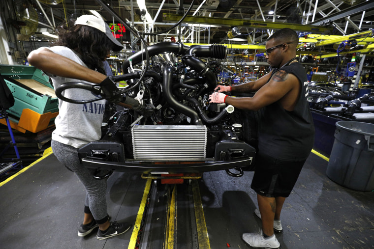 Image: Ford assembly line
