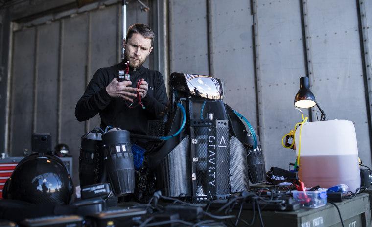 Image: Gravity Industries jet suit