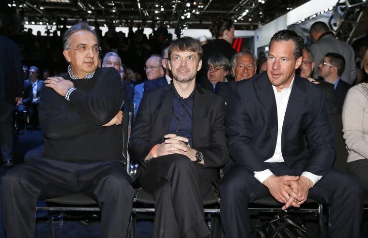 Sergio Marchionne, Michael Manley, Reid Bigland