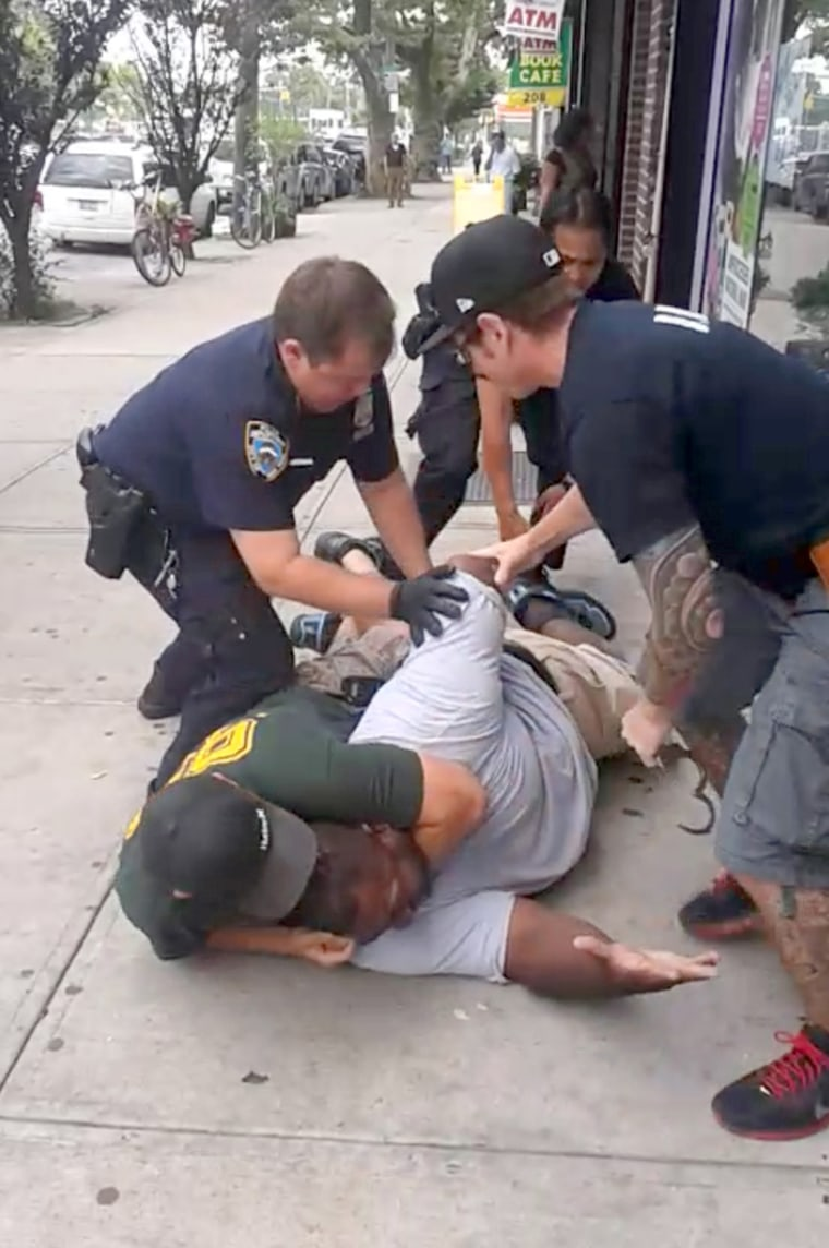 Image: Eric Garner, 46, died on Staten Island on July 17, 2014, during an arrest for allegedly selling untaxed, single cigarettes.