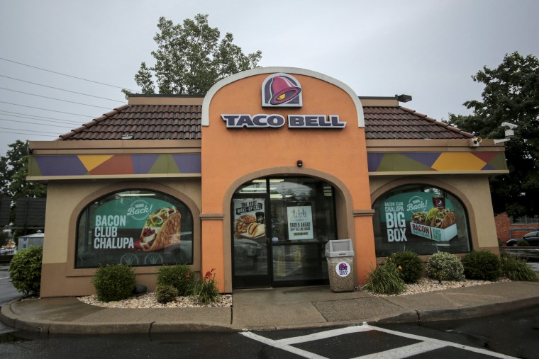 Image: A Taco Bell restaurant is pictured in Paramus, New Jersey
