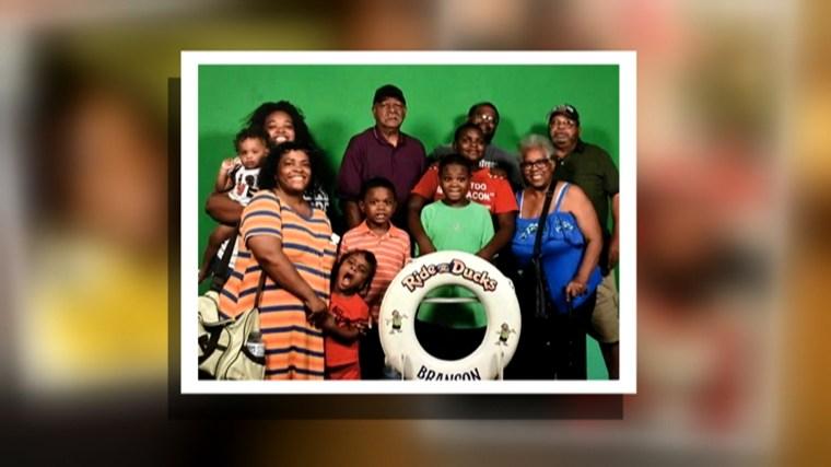 Duck Boat survivor Tia Coleman's family members