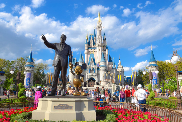 Top US amusement parks: Magic Kingdom at Disney World