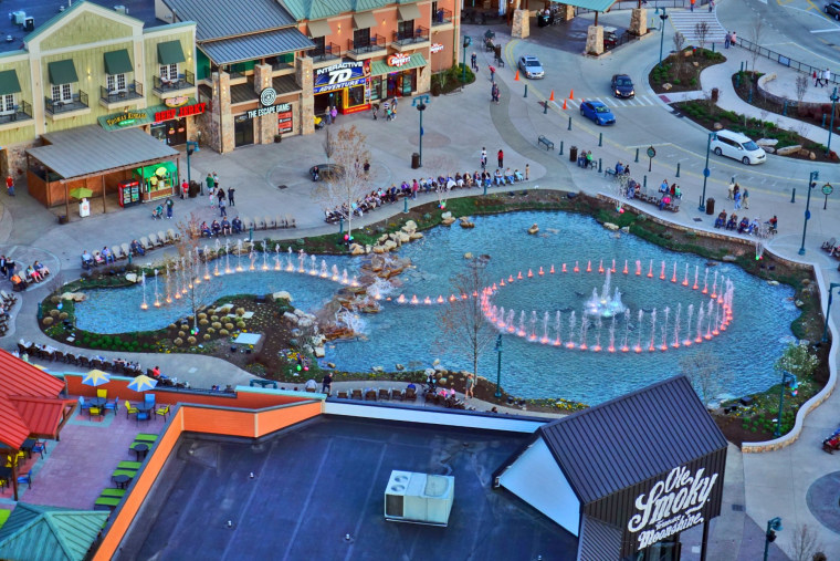 Top US amusement parks: The Island in Pigeon Forge, Tennessee