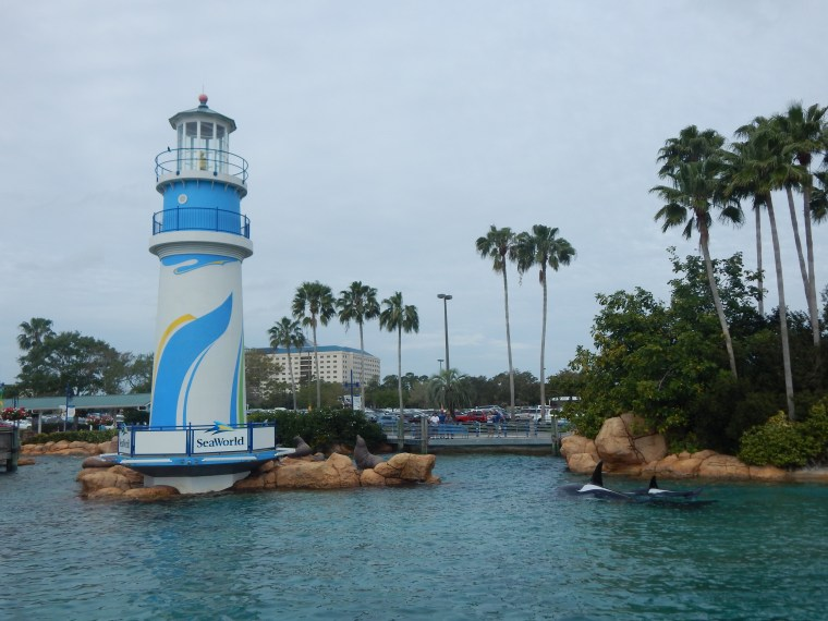 Top US amusement parks: SeaWorld Orlando, Florida