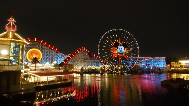 Top US amusement parks: Disney California Adventure Park
