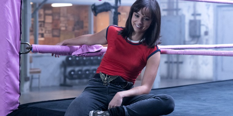 "Britt Baron on ""GLOW"""