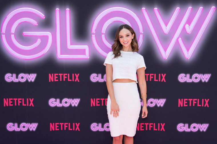 Britt Baron of 'GLOW' on Netflix