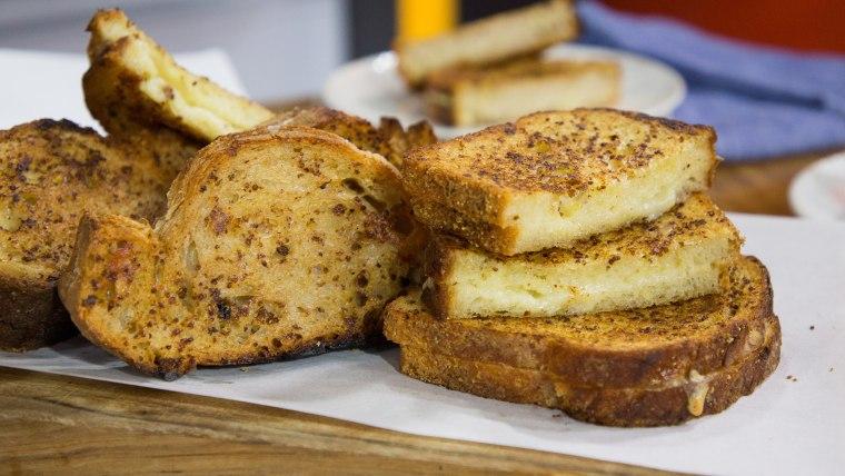 Elizabeth Heiskell's White Wine Grilled Cheese