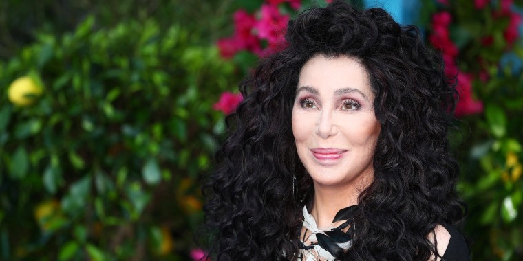Image: Cher attends the world premiere of Mamma Mia! Here We Go Again at the Apollo in Hammersmith, London