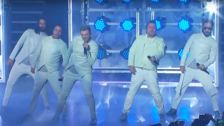 Backstreet Boys, James Cordon