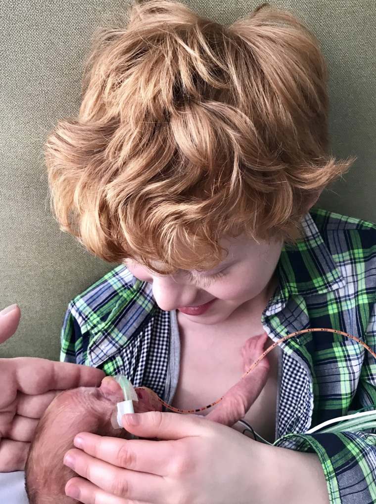 Jessica Marotta and her husband, Michael, thought their son would never get his baby brother. Then, they learned they were expecting a baby boy.