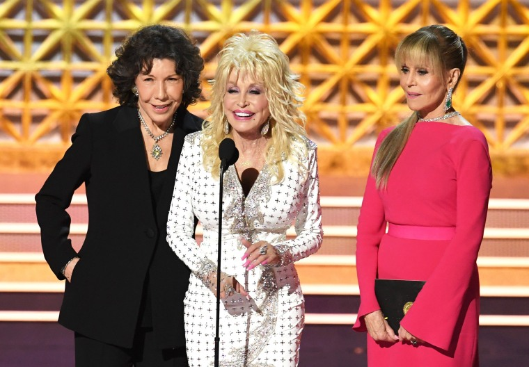 Lily Tomlin, Dolly Parton and Jane Fonda, all signed on for '9 to 5' sequel.