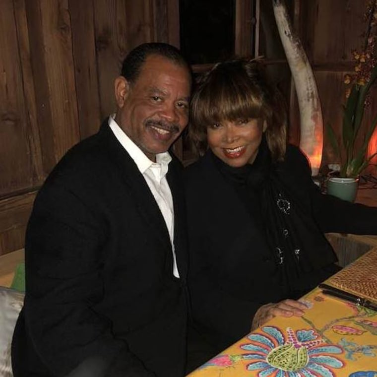Tina Turner and her late son Craig Turner