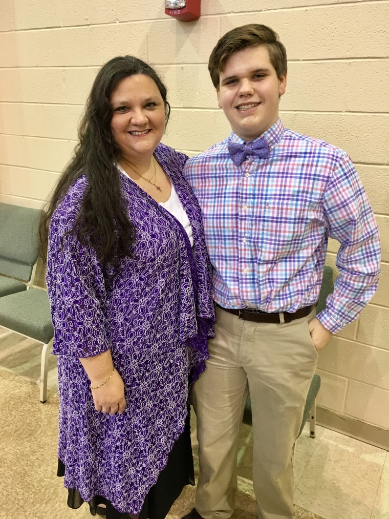 After a trip to the beach a month ago, Michael, 17, has been battling a serious hookworm infection. Mom, Kelli Dumas, wants to raise awareness about it.