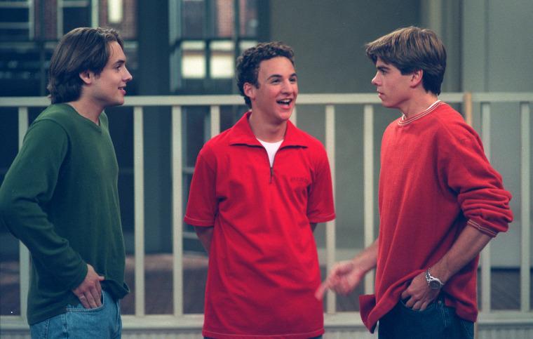 """""""Boy Meets World"""" cast"""