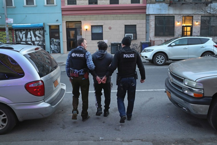 Image: ICE Arrests Undocumented Immigrants In NYC
