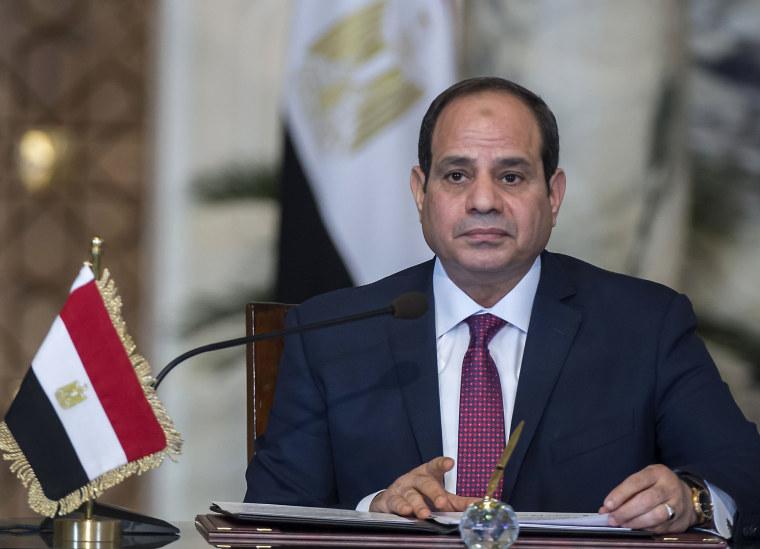 Image: Egyptian President Abdel-Fattah el-Sissi
