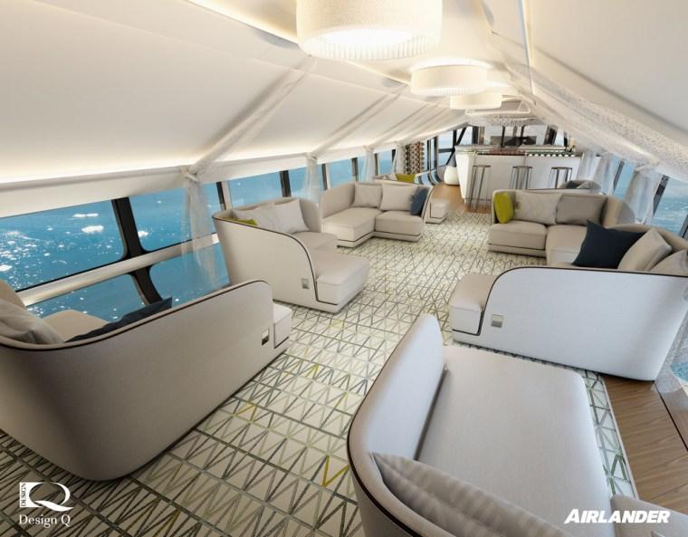 Illustration of Airlander 10 cabin