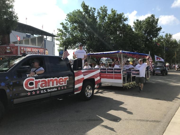 Cramer campaign truck