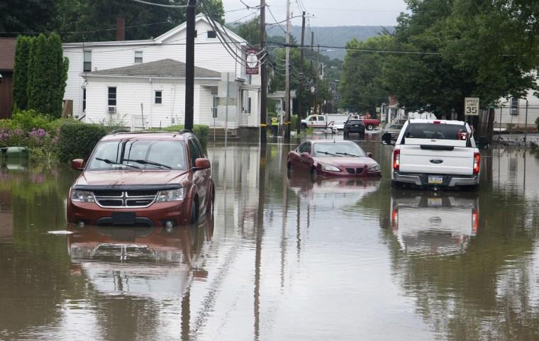 Image: Pine Grove, Pennsylvania, flood