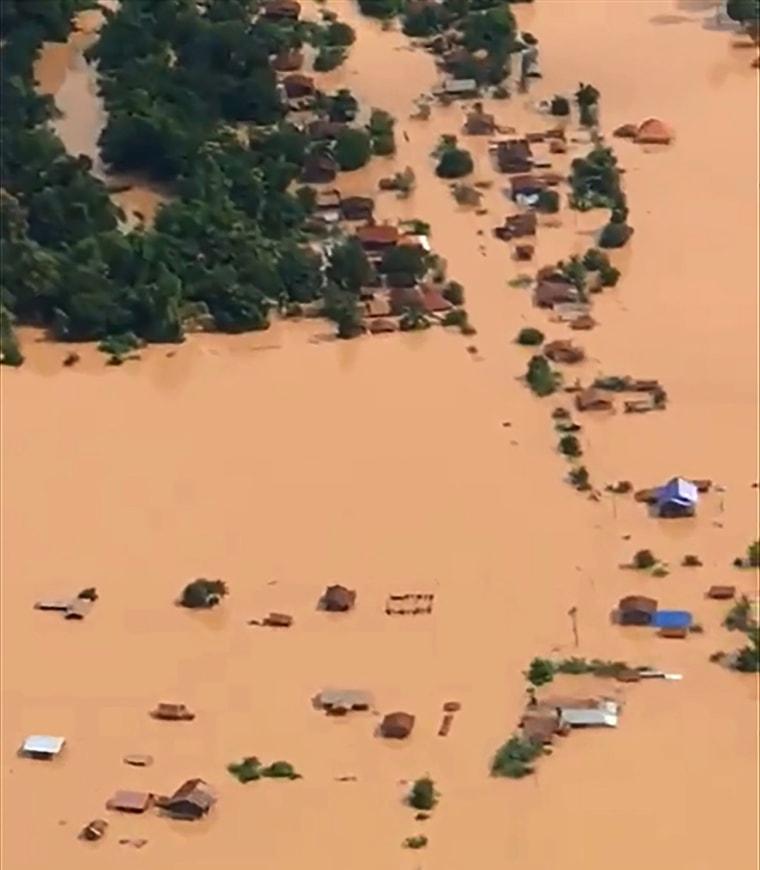 Image: Laos dam