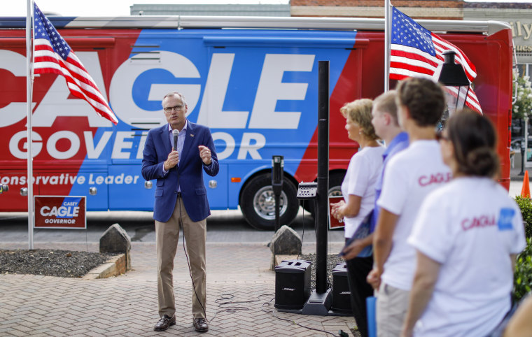 Image: Georgia Republican gubernatorial runoff candidate Casey Cagle