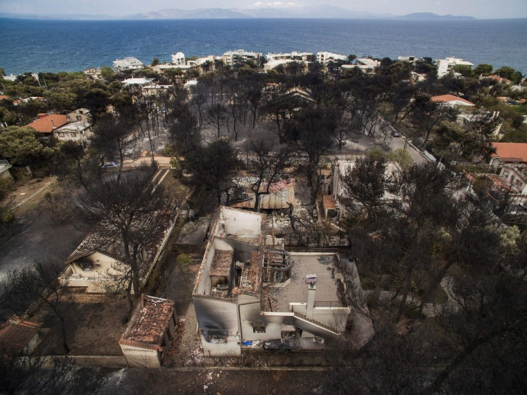Image: GREECE-FIRE
