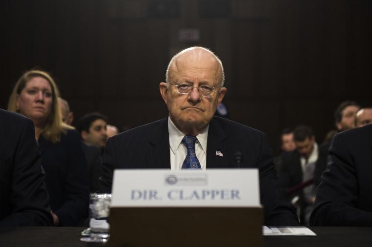 Image: Intelligence Leaders Brief Senate On Worldwide Threats To U.S.