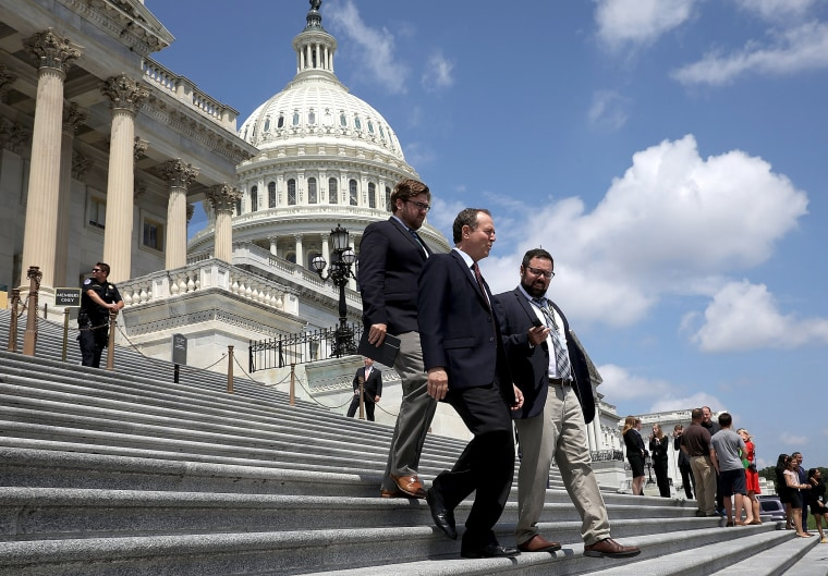 Image: Congress Members Exit The Capitol Ahead Of Summer Recess