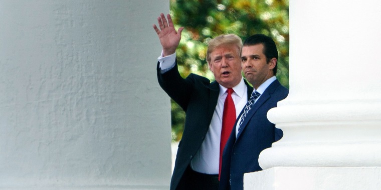 Trump says he 'did NOT' know of meeting between son, Russian lawyer