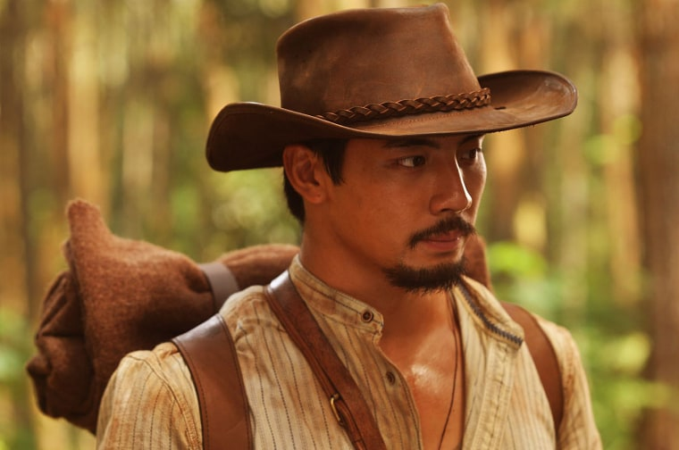 """Yoshi Sudarso as Suwo in """"Buffalo Boys."""" The actor has been attempting to develop an Asian-American western for years."""