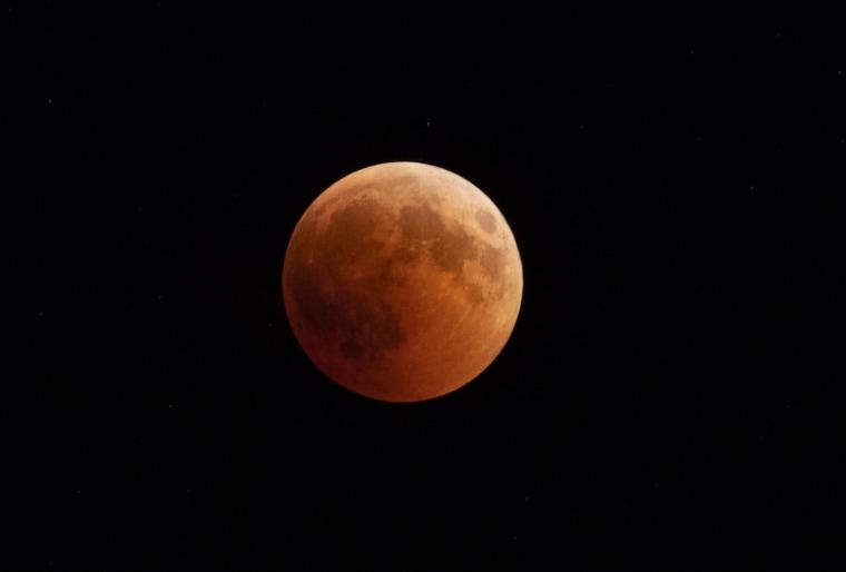 Image: Turkey witnesses longest lunar eclipse of 21st century