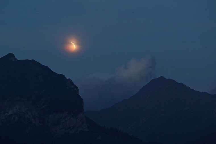 Image: Poland witnesses longest lunar eclipse of 21st century