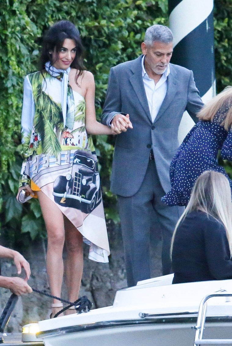 Amal Clooney S Date Night Dress Has The Perfect Summertime Feel