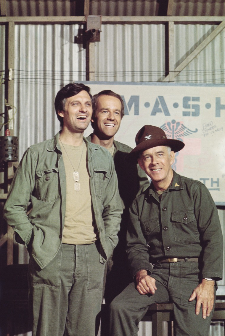 Alda, Farrell, & Morgan In 'MASH'
