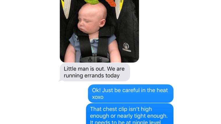 Car seat, infant safety, TODAY, Parenting