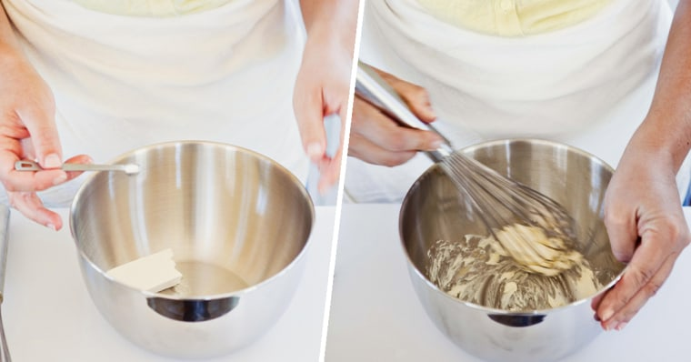 How to make ice cream: Prep three bowls