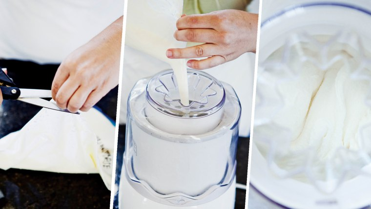How to make ice cream: Freeze