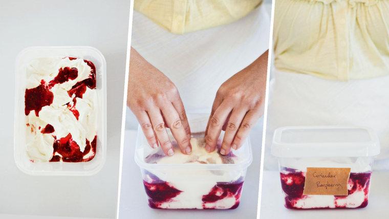 How to make ice cream: Storing ice cream