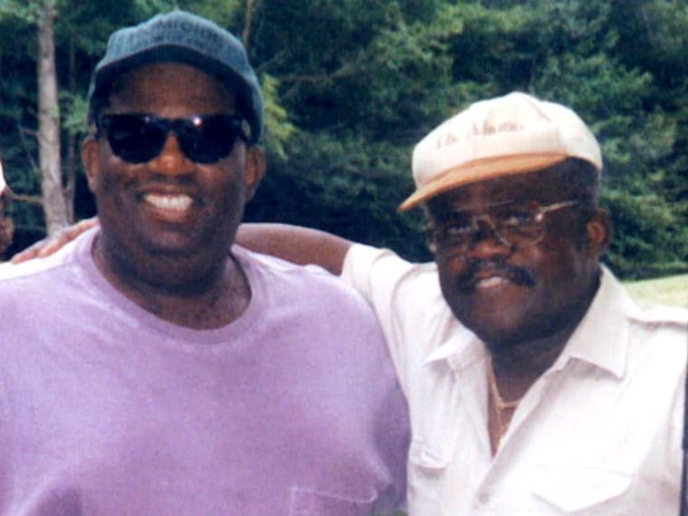 Al with his late father Al Roker Sr.