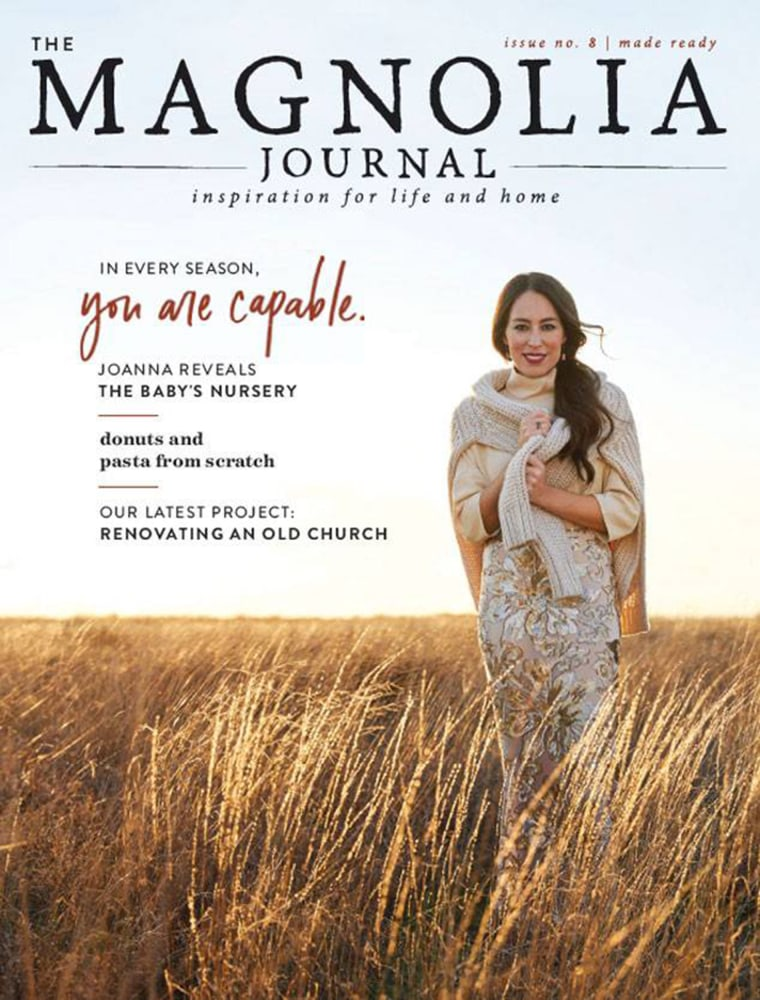 The Magnolia Journal fall issue with Joanna Gaines