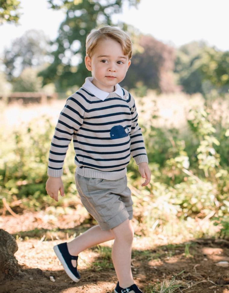 Britain's Prince George made Tatler's Best Dressed List