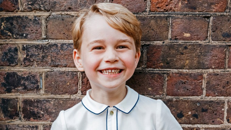 Britain's Prince George made Tatler's Best Dressed List